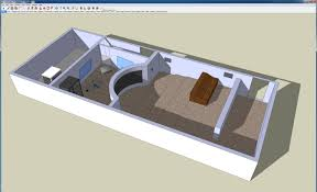 Google Sketchup Floor Plan by Research Computing