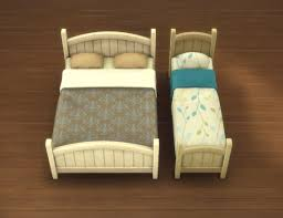 Rustic Bed Mod The Sims Rustic Bed Frames