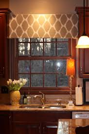 shabby chic valances kitchen u0026 dining create accent in kitchen using valance window