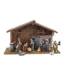 home interiors nativity set nativity home decor store overstock com