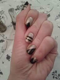 how to do nail art with sellotape nail art ideas unlikely nail
