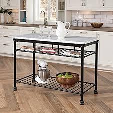 amazon com home styles 5060 94 orleans kitchen island with quartz