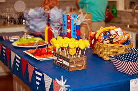 4th Of July Party Decorations Fourth Of July Party Ideas Spaceships And Laser Beams