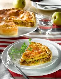 cuisiner confit de canard recette de tourte au confit de canard et pommes fruits
