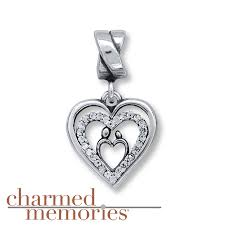 kay jewelers charmed memories kay charmed memories mother and child charm sterling silver