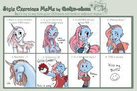 Unicorn Meme - style meme unicorn girl by snuffymcsnuff on deviantart