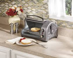 Toaster Oven Broil Hamilton Beach Easy Reach Toaster Oven Great For Tight Spaces