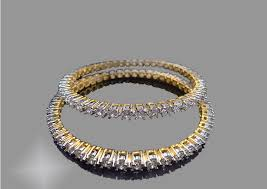 bracelet design diamond images Daphne bazaar designer american diamond bangle for women jpg