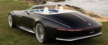 futuristic cars mercedes maybach reveals new futuristic convertible concept car