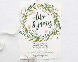 wedding invitations etsy custom wedding invitations stationery by splashofsilver on etsy