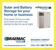 bold serious advertisement design for braemac energy sa pty ltd