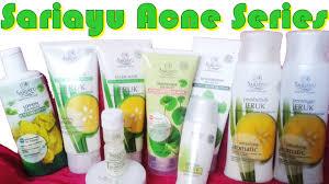 Scrub Wajah Sariayu Jeruk skincare sariayu acne series perawatan untuk wajah berjerawat