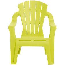 chaise plastique enfant fauteuil de jardin plastique pour enfant vert anis collection