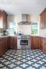 blue kitchen tiles awesome 25 bold flooring ideas that make your spaces stand out