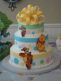 Classic Pooh Baby Shower Favors Themes Baby Shower Winnie The Pooh Baby Shower Diaper Cake As Well