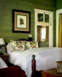 Green Wall Bedroom by A Creative Couple U0027s Southern California Dream Home Master