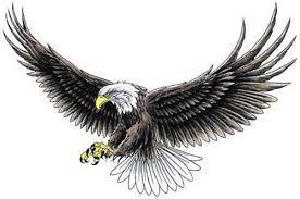 eagle tattoo clipart best photos of eagle wing stencil tribal eagle tattoo stencil