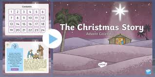 ks2 advent calendar the story of powerpoint
