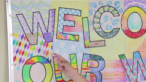 Display Board Decoration For New Year by Ellison Education Video Series Welcome Banner Bulletin Board