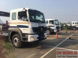 mercedes trucks india price bharatbenz is now more closer to bharat launches range bs4