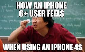 Iphone User Meme - size matters lol funny joke jokes tech humor internet