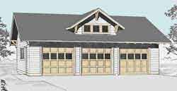 craftsman style garage plans new page 4
