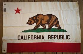 California Republic Flag Vintage Style California Flag U2014 Bungalow Modern