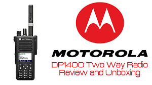 motorola dp1400 unboxing and review youtube