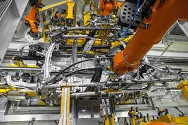 bmw factory assembly line composites institute toray seek research to cut structural auto