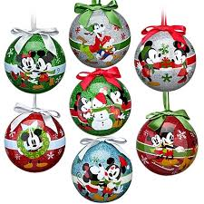 disney the magic mickey ornament set 7 pc nib