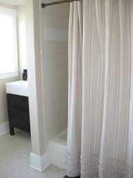 curtain rh bathroom restoration hardware shower curtain