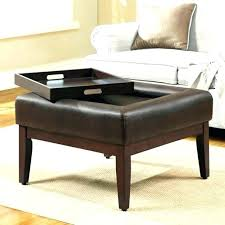 square leather coffee table leather coffee table with storage square leather ottoman coffee