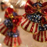269 best patriotic christmas tree images on pinterest christmas