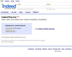 How To Make A Resume With One Job by Outstanding How To Upload A New Resume On Indeed 44 With