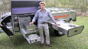 Outdoor Kitchens For Camping by Off Road Camper Trailer Kimberley Kampers Camping Kitchen Youtube
