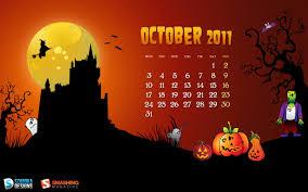 halloween background cartoon in january calendar wallpapers 30359 calendar wallpaper