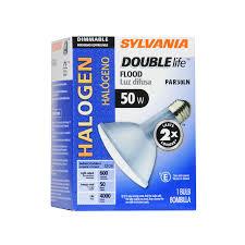 Halogen Outdoor Flood Light Fixture by Shop Sylvania 50 Watt Dimmable Warm White Par 30 Longneck Halogen