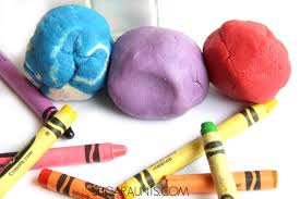 salt dough recipe made with crayons the ot toolbox
