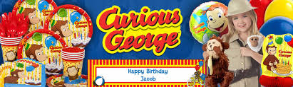 curious george party ideas curious george party guide curious george party at birthday in a box