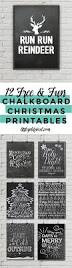 12 free christmas chalkboard printables u2022 little gold pixel