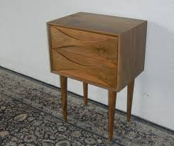 mid century modern bedside cabinets vintage and fine