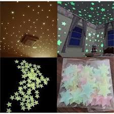 etoiles phosphorescentes plafond chambre autocollant sticker mural phosphorescent stickers autocollant mural