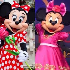 mickey minnie mouse debut shanghai disneyland