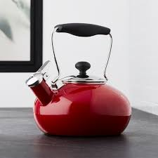 Red Polka Dot Kettle And Toaster Teapots Tea Kettles And Warmers Crate And Barrel