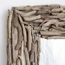 large rectangular driftwood mirror by decorative mirrors online