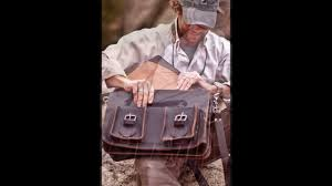 Rugged Laptop Bags Men U0027s Rugged Leather Briefcase Laptop Bag By Buffalo Jackson