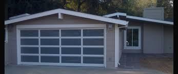 garage glass doors modern contemporary garage door design and installation madden