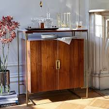 west elm bar cabinet 10 stylish bar carts to upgrade your cocktail hour espresso bar