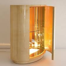Lighted Bar Cabinet Lighted Bar Cabinet By Aldo Tura 1960s Furniture Pinterest
