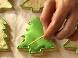decorating cookies decorating christmas tree cookies happy holidays